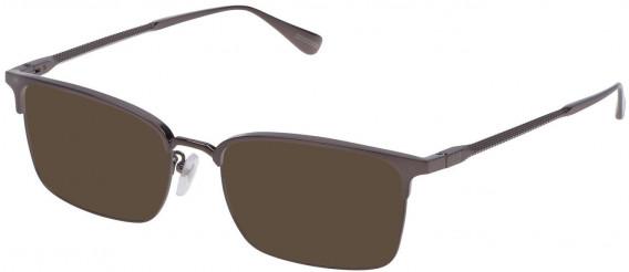 Dunhill VDH086M sunglasses in Shiny Ruthenium
