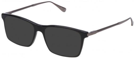 Dunhill VDH085 sunglasses in Shiny Black