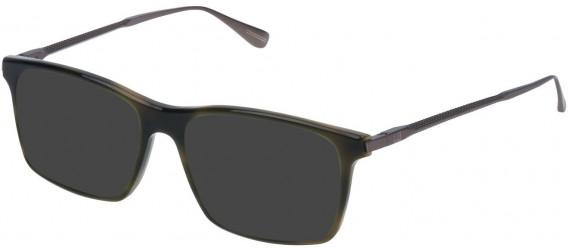 Dunhill VDH085 sunglasses in Shiny Green Havana