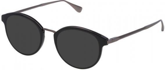 Dunhill VDH084 sunglasses in Shiny Black