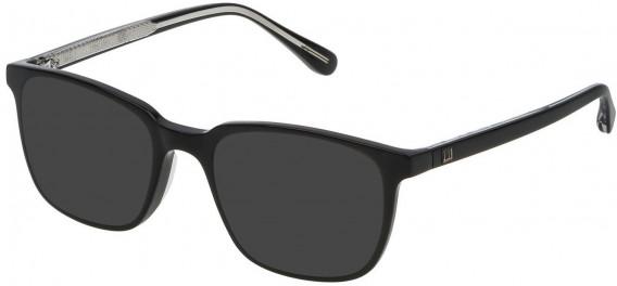 Dunhill VDH083 sunglasses in Black Super Black