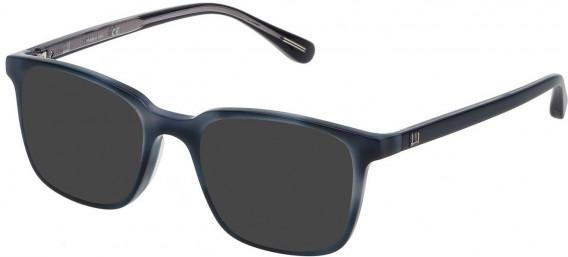 Dunhill VDH083 sunglasses in Shiny Blue Havana