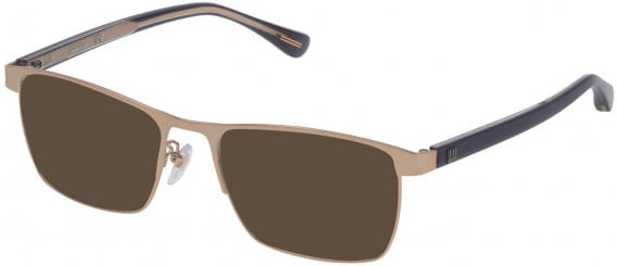 Dunhill VDH082 sunglasses in Semi Matt Grey Gold