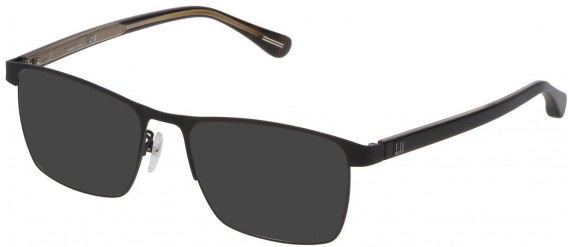 Dunhill VDH082 sunglasses in Semi Matt Black