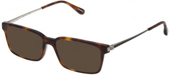Dunhill VDH078 sunglasses in Havana Brown