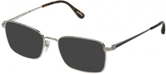 Dunhill VDH077 sunglasses in Shiny Palladium