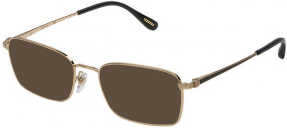 Dunhill VDH077 sunglasses in Shiny Rose Gold