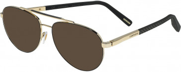 Chopard VCHD21 sunglasses in Shiny Grey Gold