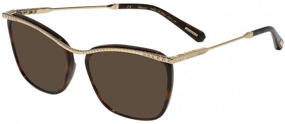 Chopard VCHD16S sunglasses in Shiny Dark Havana