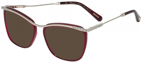 Chopard VCHD16S sunglasses in Shiny Oplaine Red