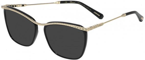 Chopard VCHD16S sunglasses in Shiny Black