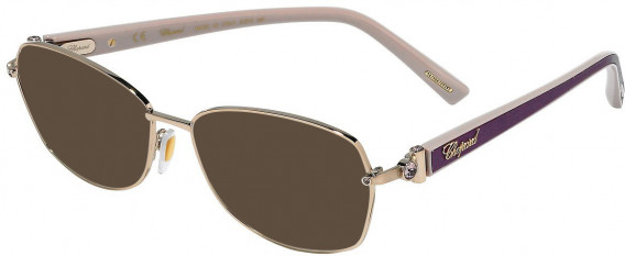 Chopard VCHD14S sunglasses in Shiny Red Gold