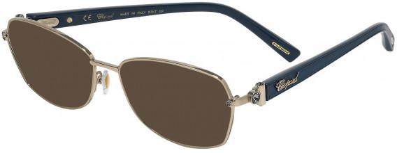 Chopard VCHD14S sunglasses in Shiny Camel