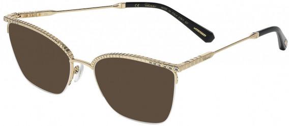 Chopard VCHD13S sunglasses in Shiny Rose Gold