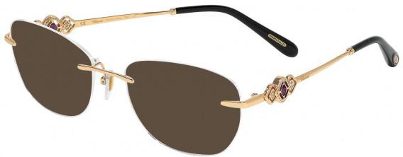 Chopard VCHD11S sunglasses in Shiny Copper Gold