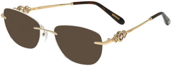 Chopard VCHD11S sunglasses in Shiny Rose Gold