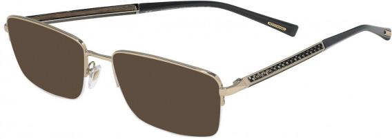 Chopard VCHC98 sunglasses in Shiny Camel