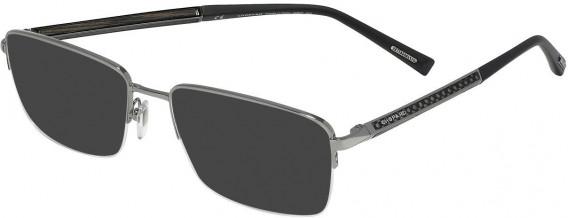 Chopard VCHC98 sunglasses in Shiny Ruthenium