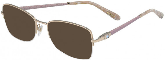 Chopard VCHC72S sunglasses in Shiny Red Gold