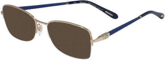 Chopard VCHC72S sunglasses in Shiny Camel