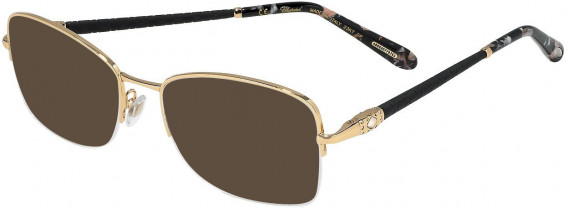 Chopard VCHC72S sunglasses in Shiny Total Rose Gold