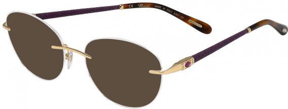 Chopard VCHC71S sunglasses in Shiny Rose Gold