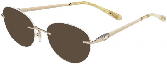 Chopard VCHC71S sunglasses in Shiny Red Gold