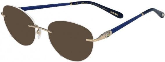 Chopard VCHC71S sunglasses in Shiny Camel