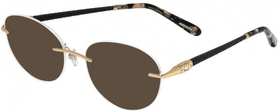 Chopard VCHC71S sunglasses in Shiny Total Rose Gold