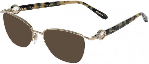 Chopard VCHC54S sunglasses in Shiny Camel
