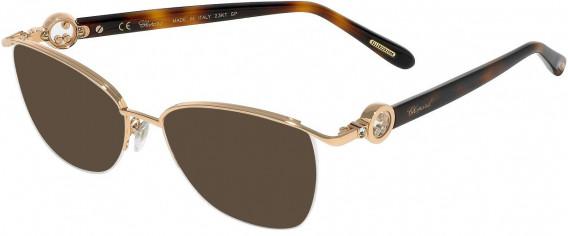 Chopard VCHC54S sunglasses in Shiny Copper Gold