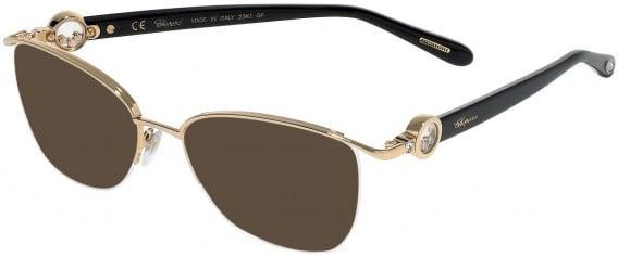 Chopard VCHC54S sunglasses in Shiny Rose Gold