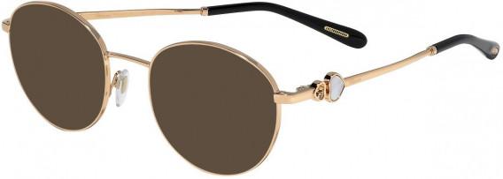 Chopard VCHC52S sunglasses in Shiny Copper Gold