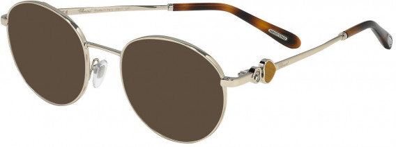 Chopard VCHC52S sunglasses in Shiny Light Gold