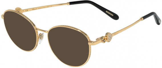 Chopard VCHC52S sunglasses in Shiny Rose Gold