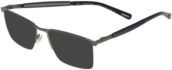 Chopard VCHC38 sunglasses in Gun