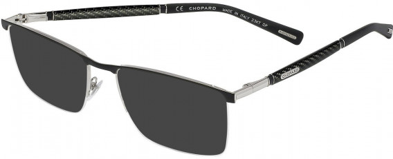 Chopard VCHC38 sunglasses in Shiny Palladium