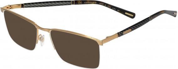 Chopard VCHC38 sunglasses in Satin Rose Gold