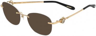 Chopard VCHC35S sunglasses in Shiny Copper Gold