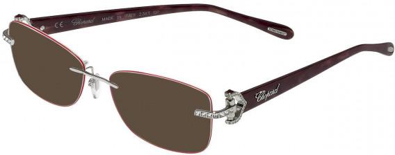 Chopard VCHC01S sunglasses in Shiny Full Palladium