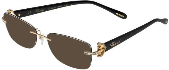 Chopard VCHC01S sunglasses in Shiny Rose Gold