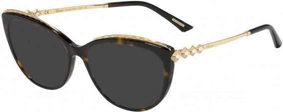 Chopard VCH276S sunglasses in Shiny Dark Havana