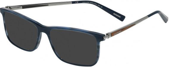 Chopard VCH269 sunglasses in Striped Blue