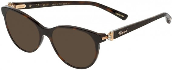 Chopard VCH268S sunglasses in Shiny Dark Havana