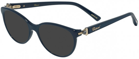 Chopard VCH268S sunglasses in Shiny Full Blue