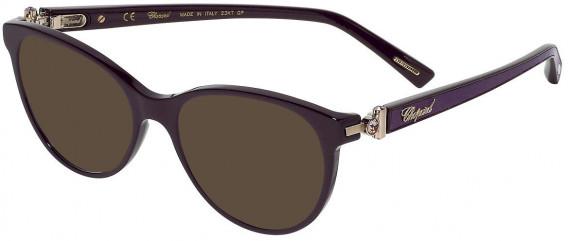 Chopard VCH268S sunglasses in Shiny Full Plum