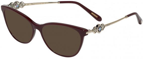 Chopard VCH265S sunglasses in Full Bordeaux