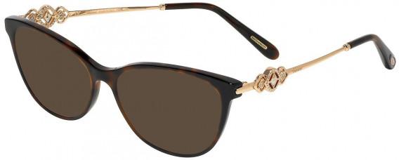 Chopard VCH265S sunglasses in Shiny Dark Havana