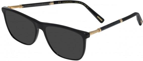 Chopard VCH257 sunglasses in Shiny Black
