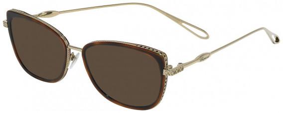 Chopard VCH256M sunglasses in Shiny Camel